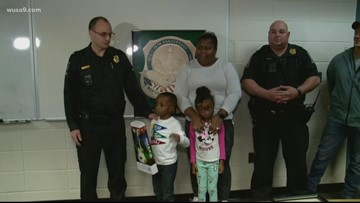 Brave kids are awarded for helping their mom during a medical emergency