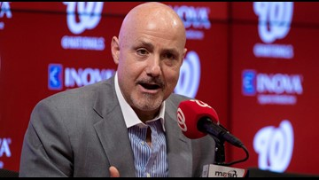 Nats GM Mike Rizzo talks about Bryce Harper, spaghetti, and wiffle ball