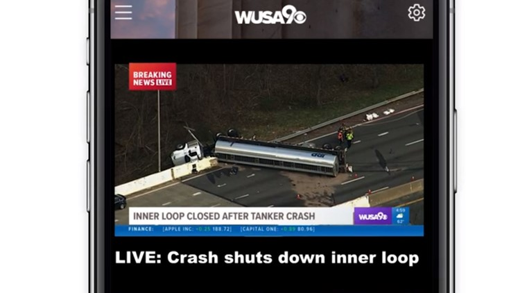 WUSA9 has a new app, download it here