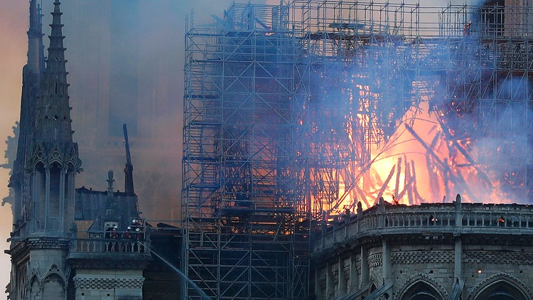 'Love… continues to flourish over a heart in ruin:' As Notre Dame burns, what we've lost – and what we haven't