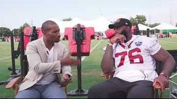Rapid 9 with the Redskins' Morgan Moses
