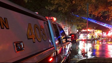 Man found dead after 2-alarm fire rips through Centreville apartment building