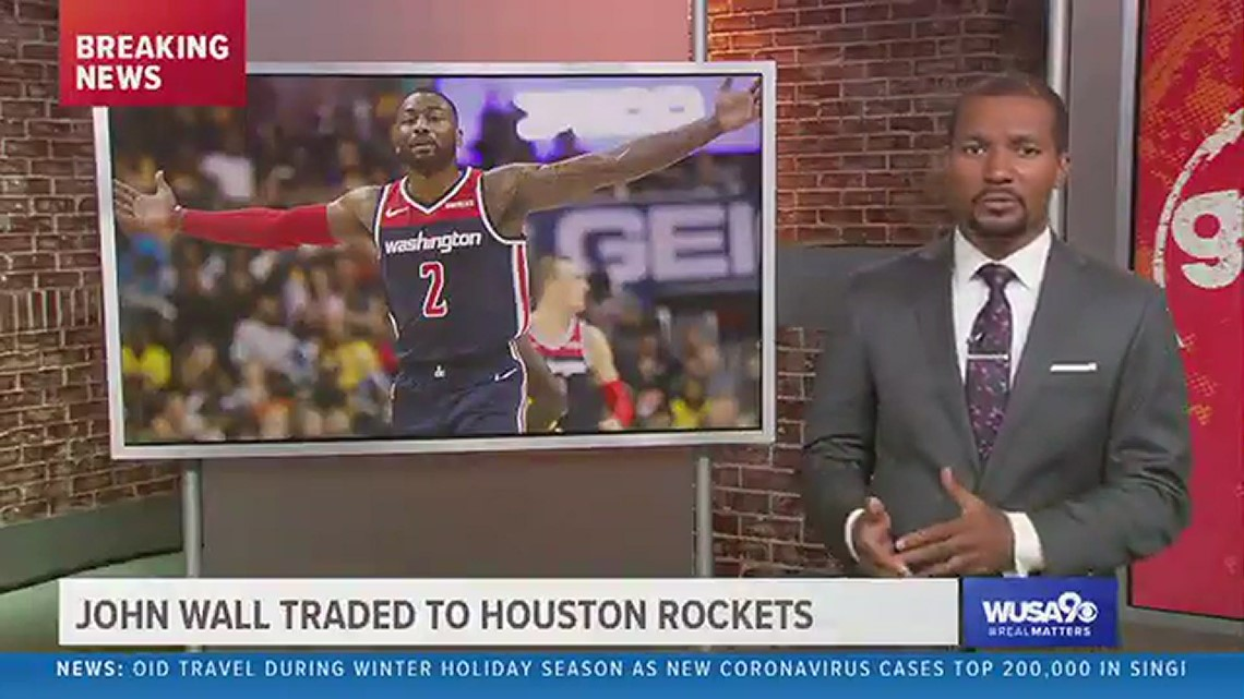 Wizards trade John Wall to Houston Rockets for Russell Westbrook