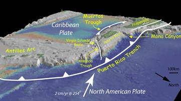 Here's how plate tectonics caused Puerto Rico's recent earthquakes