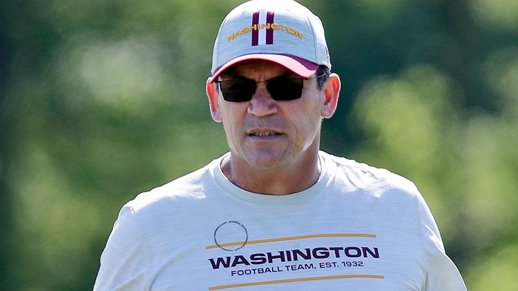 Ron Rivera opens Washington camp frustrated by vaccine hesitancy
