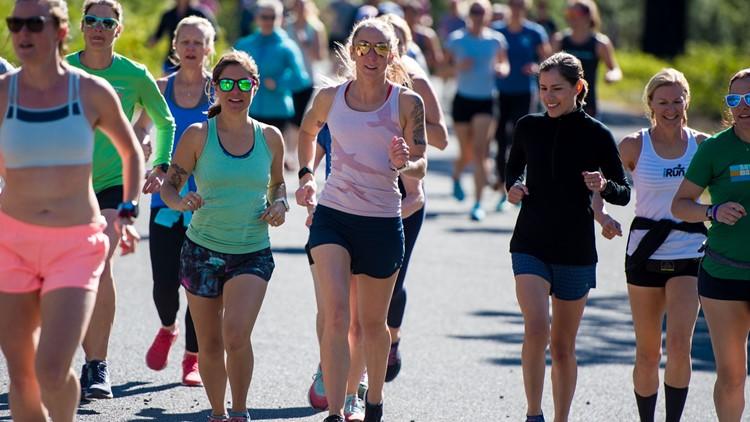 Christina running