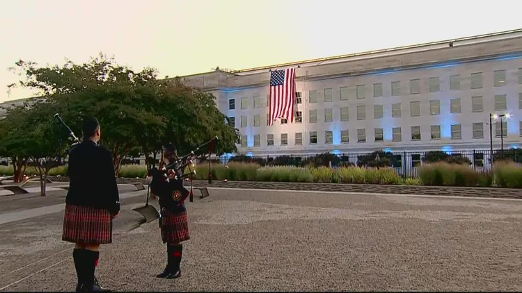 20 years later: 9/11 victims honored in ceremony at Pentagon