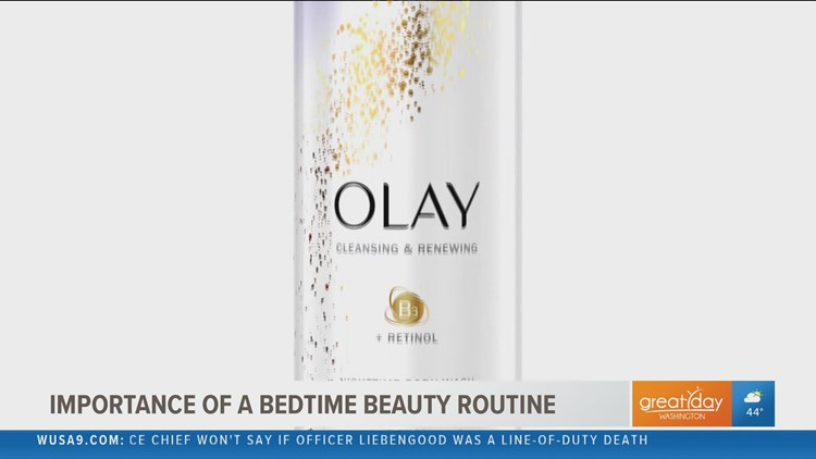 Don't skip the bedtime beauty routine