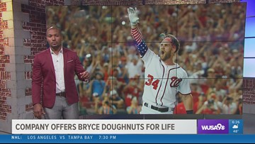 Don't go, Bryce! We can give you donuts!