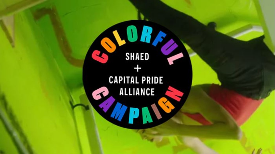 SHAED'S colorful campaign partners with Virginia bar to support GivePride365