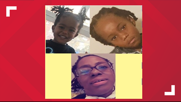 FOUND SAFE: Woman with She has 2-year-old, 7-year-old with her
