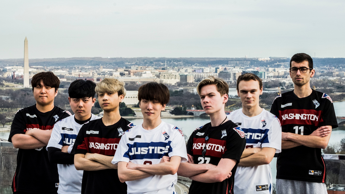Meet the Washington Justice: The professional Overwatch team trying to put DC on the esports map