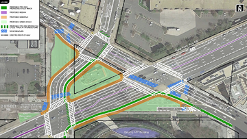DDOT pursues new intersection design to fix 'Dave Thomas Circle'