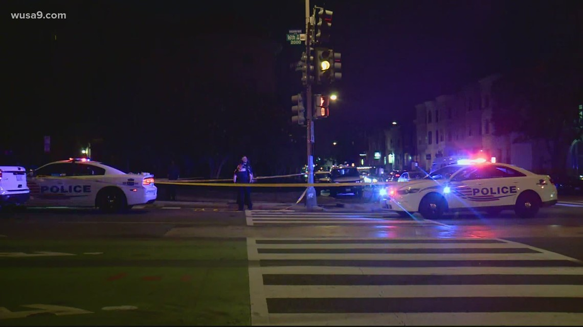 DC intersection scene of another hit and run | Has been site of other accidents in the past