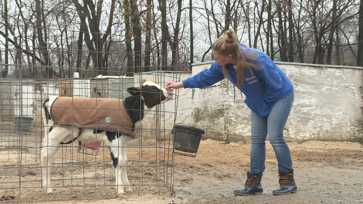 Ashley Hardesty hopes her kids will take over the family farm, as the fifth generation.
