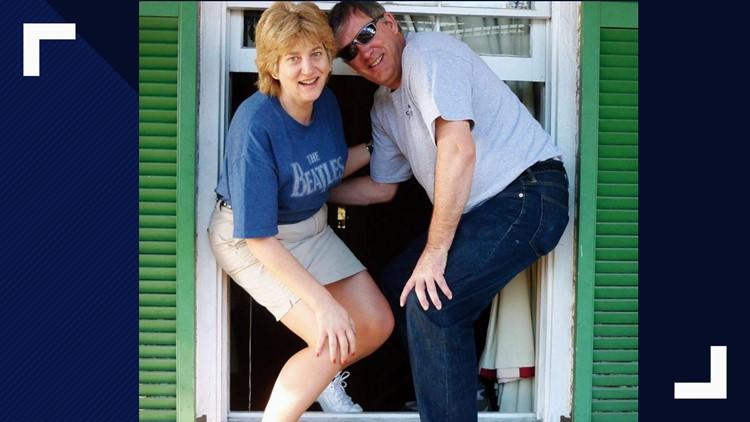 Andrea and john