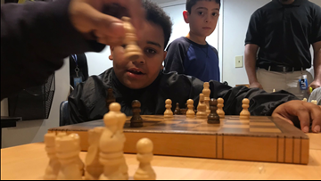 Vulnerable youngsters learn life lessons at the chess board