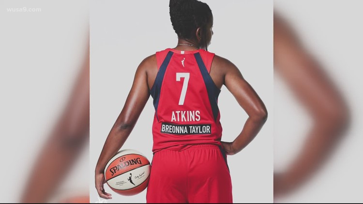 Mystics using season to highlight 'Say Her Name' campaign, mentioning Breonna Taylor in every postgame note