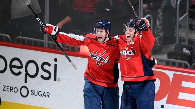 Sharks Capitals Hockey
