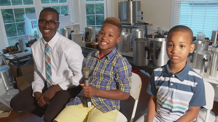 Maryland boys' candle company finds success on a national scale