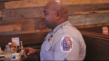 Prince George's County Police Department participates in national 'Coffee With A Cop Day'