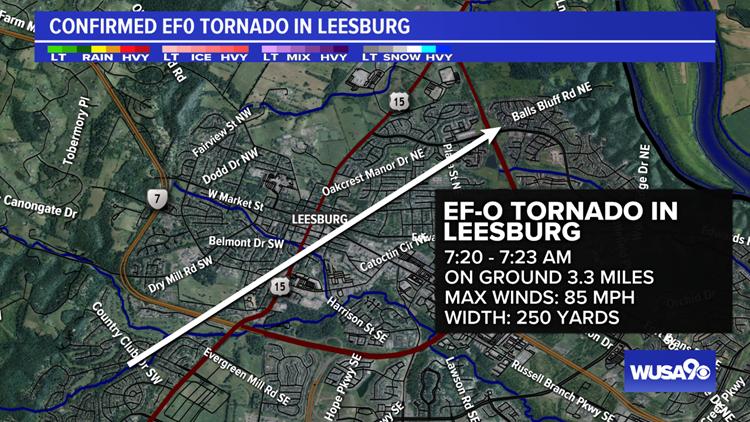 Leesburg Tornado