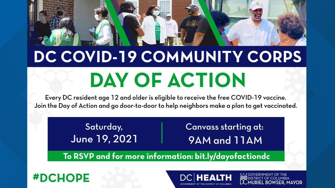 Day of Action: DC Mayor going door-to-door to educate residents about COVID-19 vaccine