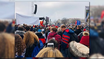 Vice President Mike Pence makes surprise appearance at March for Life rally