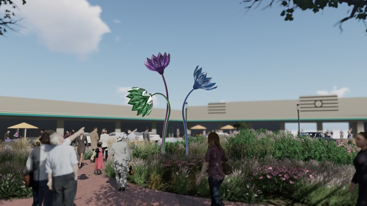 New kinetic flower sculpture coming to Silver Spring | Get Uplifted