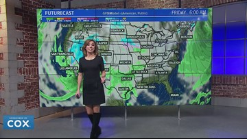 Traveling home after Thanksgiving? Here's where snow and rain will impact your travels
