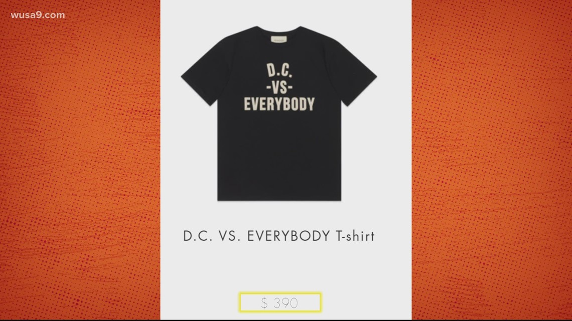 Gucci wants to help you rep DC with a nearly $400 T-shirt | It's A DC Thing