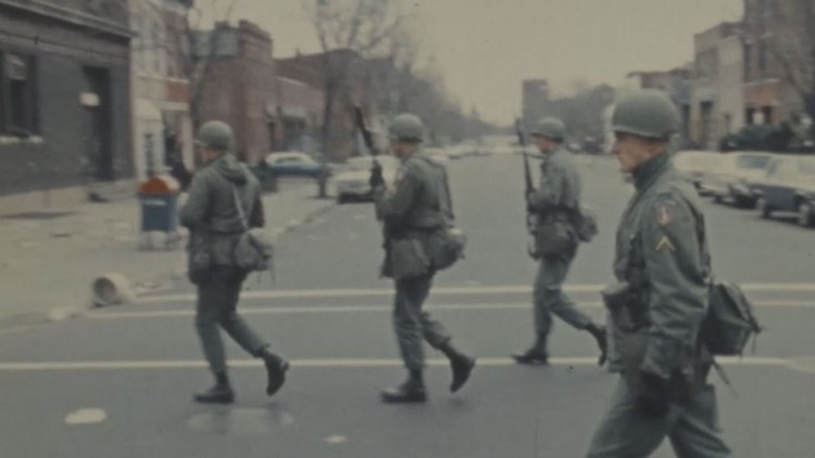 Washington DC Riots 1968 Martin Luther King Jr. Assassination