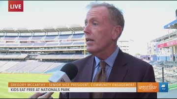 Spreading 'Natitude' in the community and at Nationals Park