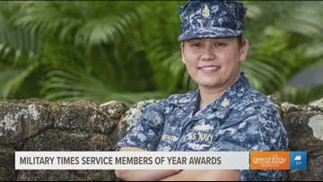 Meet an honoree of the 2019 Military Times Service Members of the Year Awards