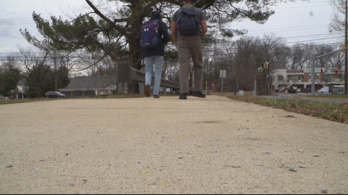Hundreds of Montgomery County students returned back to the classroom Monday
