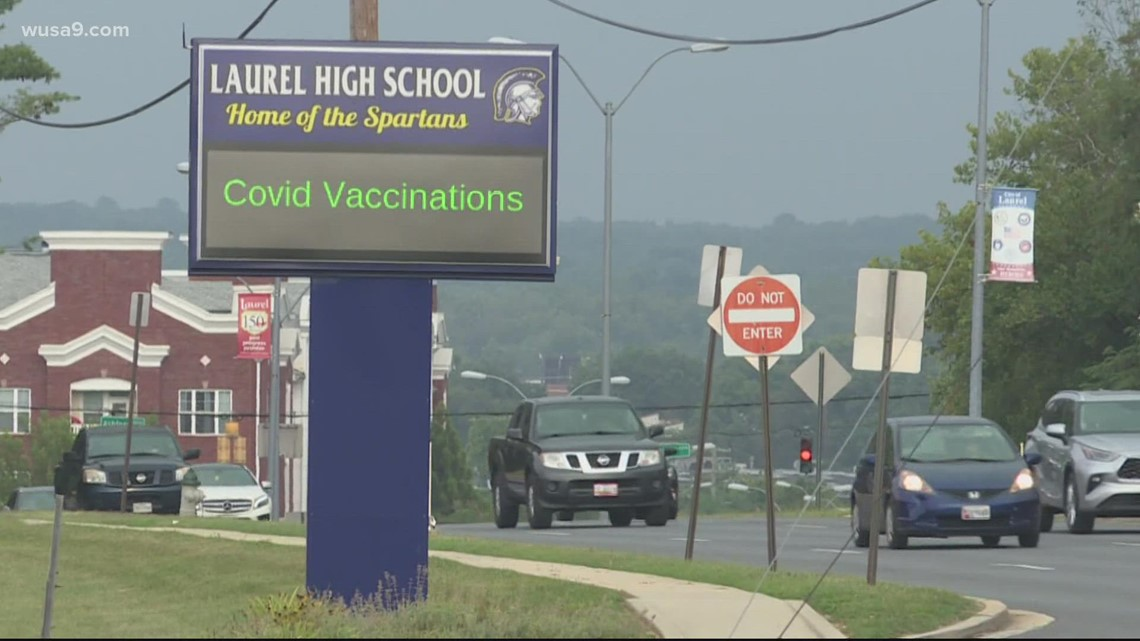Despite ongoing COVID-19 concerns, some vaccination events still see small crowds