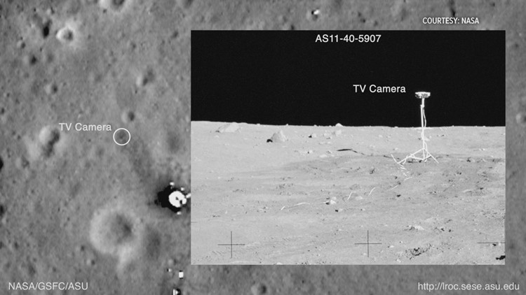 TV Camera Apollo 11 Landing site
