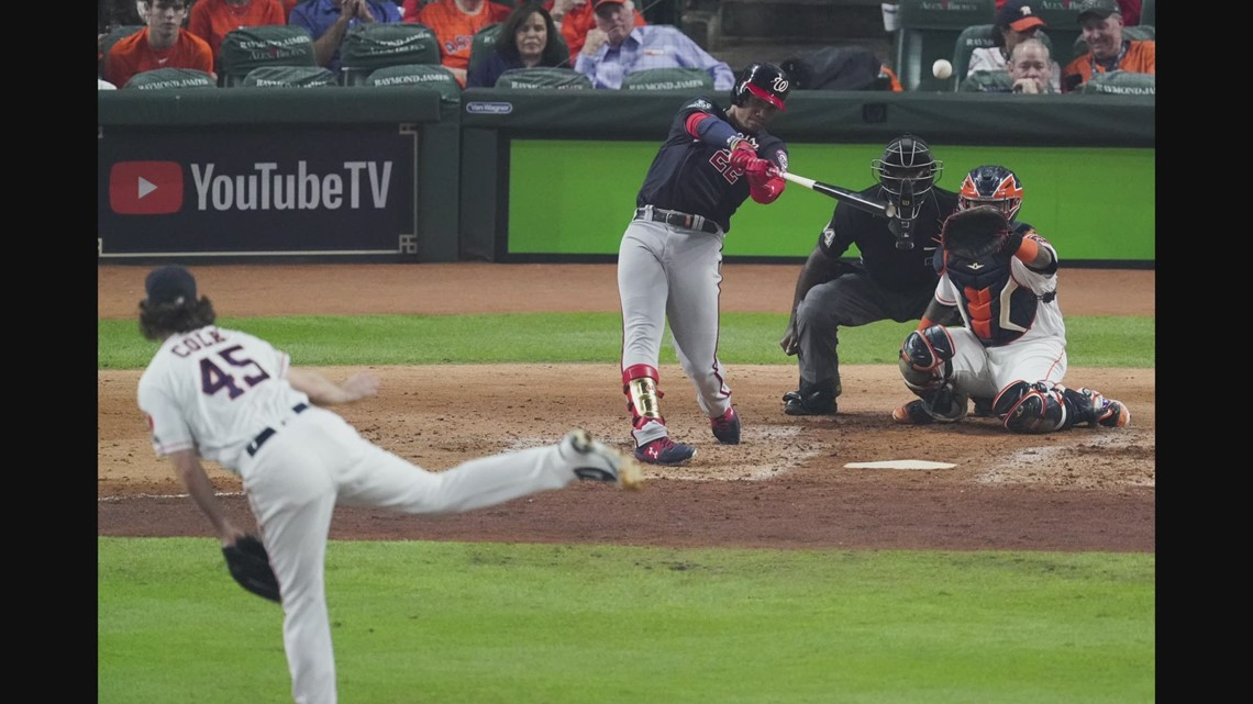 Juan Soto takes center stage at Game 1 of World Series