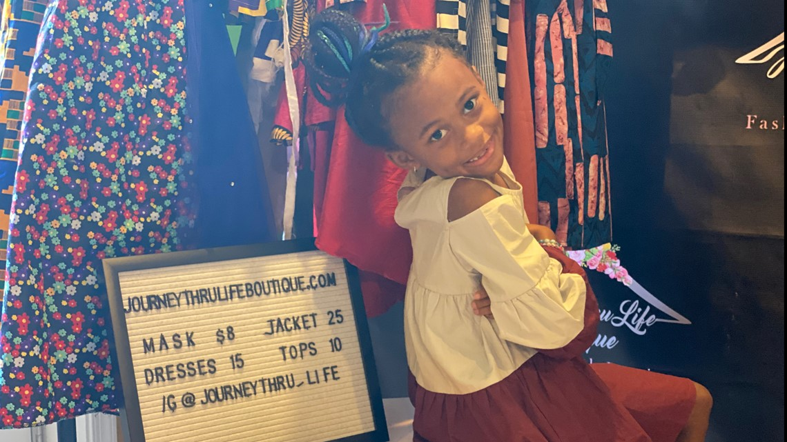 Dmv Kids Fashion Week Meet 7 Year Old Journey Williams Wusa9 Com