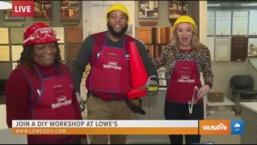Kids can get active and explore creativity with DIY workshops at Lowe's
