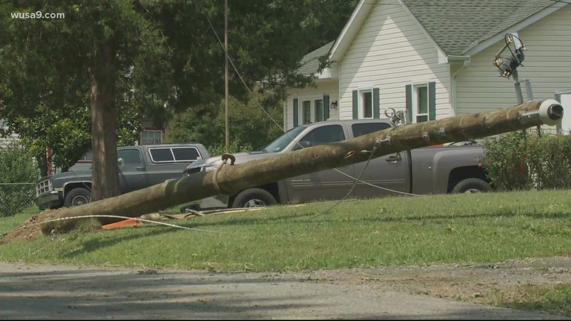 National Weather Service to determine if a tornado touched down in Virginia