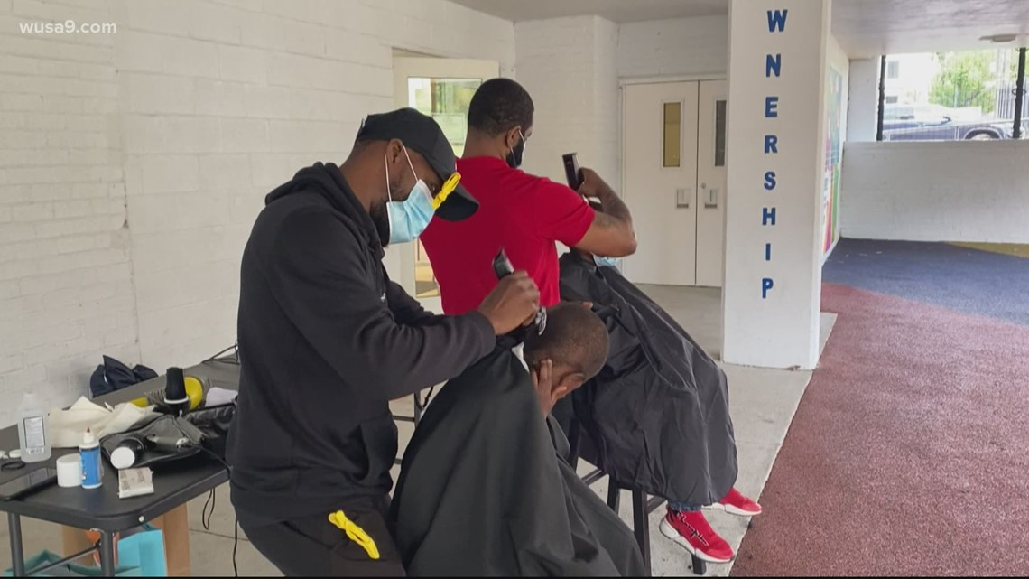 DC nonprofit offers free haircuts for kids | Get Uplifted