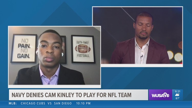 Navy denies Buccaneers undrafted rookie Cameron Kinley's request to delay commission to play in NFL