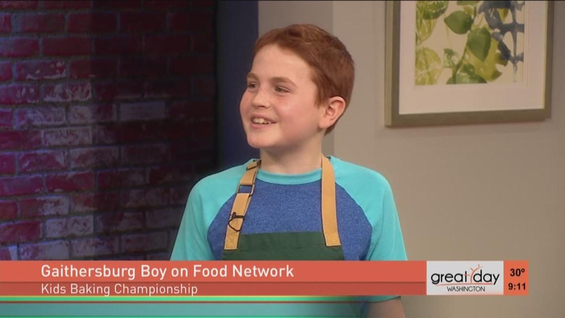 Local Contestant Enters Kids Baking Championship Wusa9com