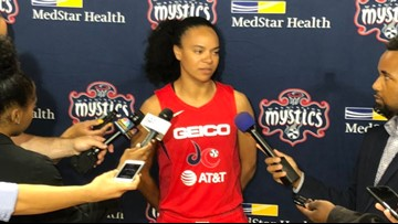 Mystics lose to Sun in Game 2 of WNBA Finals, 99-87