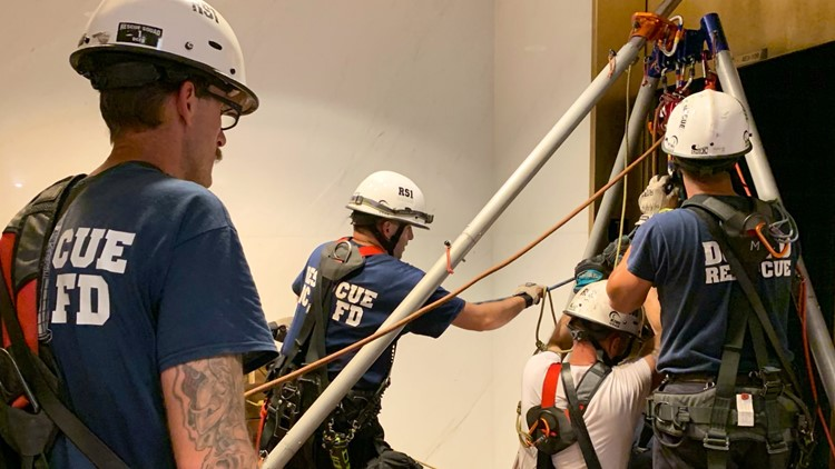 'I never felt worried at all'   82-year-old survivor of Kennedy Center elevator mishap praises rescuers
