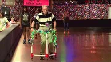 North Carolina man celebrates turning 95 at the skating rink | Get Uplifted