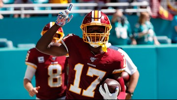 Redskins narrowly win first game of the season against Dolphins, 17-16
