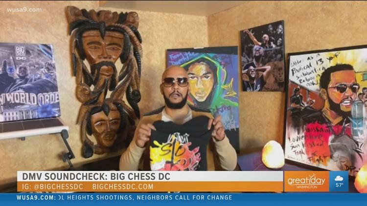 Big Chess DC brings Go-Go music and social activism to the DMV Soundcheck