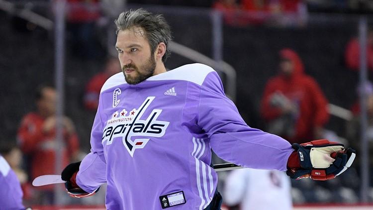 Blue Jackets Capitals Hockey